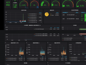Node Exporter for Prometheus Dashboard 中文版