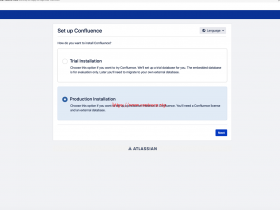 Confluence install 7.0.1